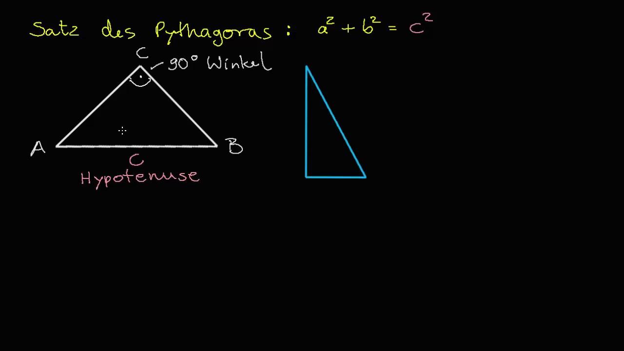Großartig Einführung In Satz Des Pythagoras Arbeitsblatt Fotos ...