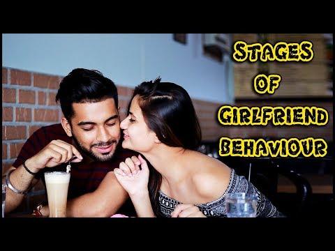 Stages Of Girlfriend Behaviour    Namra Qadir