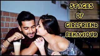 Stages Of Girlfriend Behaviour || Namra Qadir