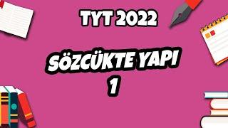 Sözcükte Yapı -1 Kök, Ek, Gövde  TYT Türkçe 2021 hedefekoş