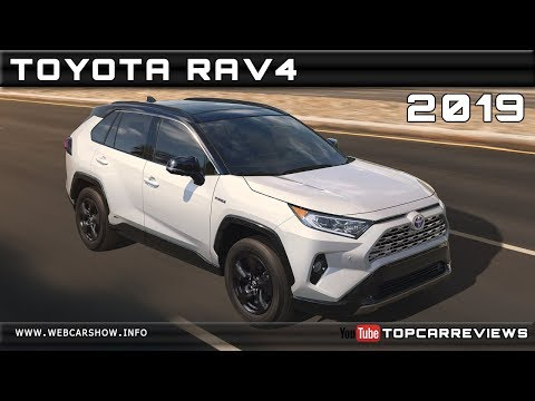 2019 TOYOTA RAV4 Review Rendered Price Specs Release Date