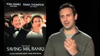 John Lee Hancock Interview -- Saving Mr. Banks