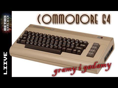 [Live] Gramy i Gadamy - Commodore 64 - RetroGralnia #98 - Retro Komputer - Stare Gry