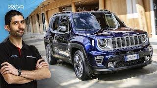 Jeep Renegade | i nuovi motori 1.0 e 1.3 guidati per la prima volta