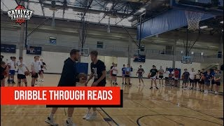 Baseline Dribble Through Reads