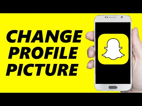 How To Change Snapchat Profile Picture!
