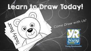 Teaching Kids How to Draw: How to Draw a Teddy Bear