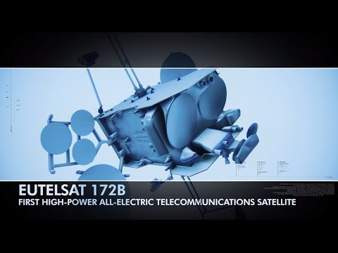 Airbus: First high power all-electric satellite EUTELSAT 172B