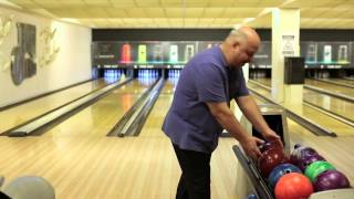 Bowling topu nasıl yuvarlanır?