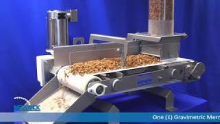 Merrick Industries Model 970N Weigh Belt Feeder: Pet Food Material Test