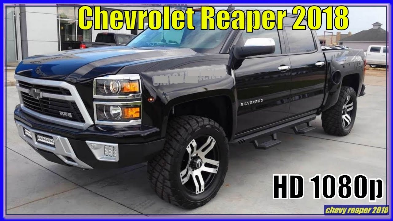 Chevy Reaper For Sale >> Chevrolet Reaper 2018 2018 Chevy Silverado Reaper Pickup Review Interior Exterior