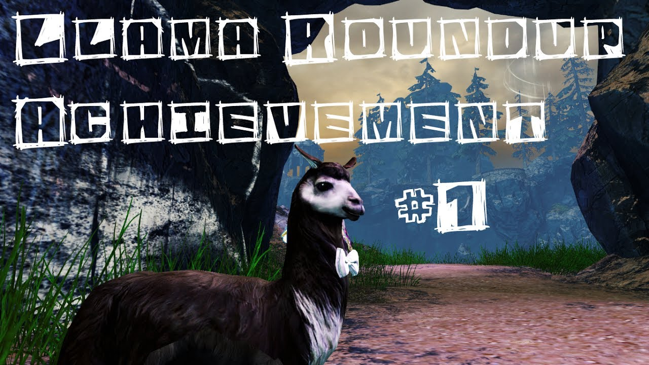 Guild Wars 2 Llama Roundup Achievement Guide Part 1 510 Youtube
