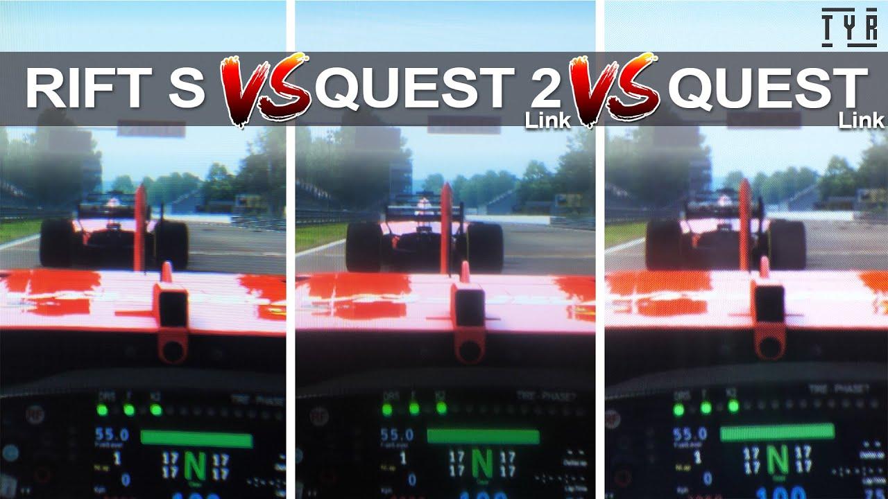 THROUGH THE LENSES - QUEST 2 vs RIFT S vs QUEST! Q2 Update Exclusive!