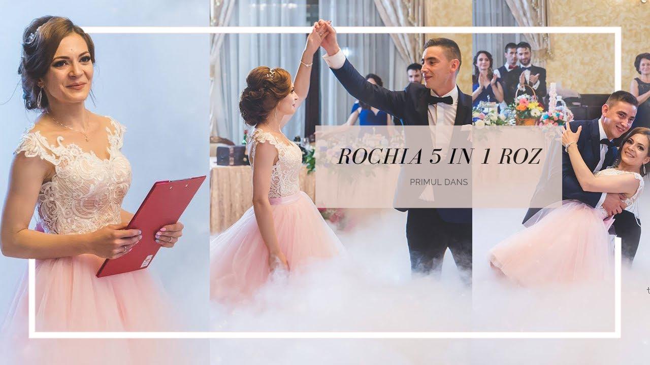 Primul Dans - Rochia de Mireasa 5 in 1 Nunta reala