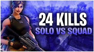 24 KILLS SOLO VS SQUAD - TOP CONSOLE PLAYER