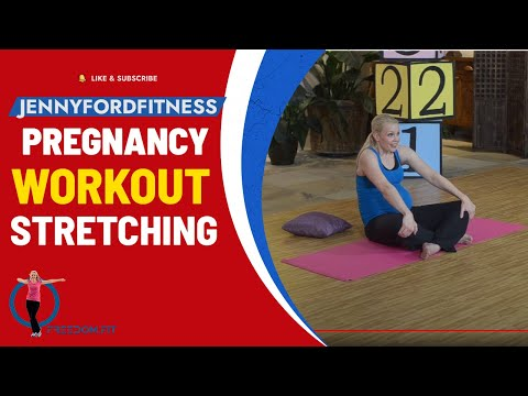 Pregnancy Toning & Stretching Workout At-Home