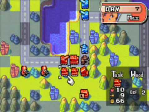Let's Play Advance Wars - Mission #5M (2/2) A Carefully Planned Victory