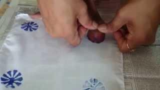 Making of Block printed handkerchiefs