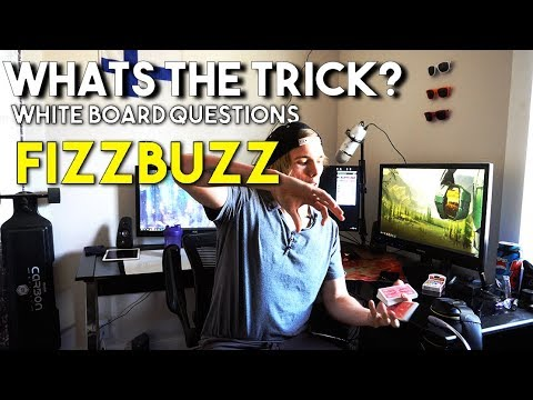 Whats the trick? White Board Questions - Fizzbuzz (Lets start simple)