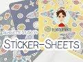 Silhouette Studio V4 - Sticker-Sheets