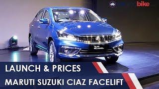 Maruti Suzuki Ciaz Facelift: First Look
