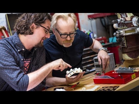 3D Printing on Adam Savage's Hellboy Glove Project