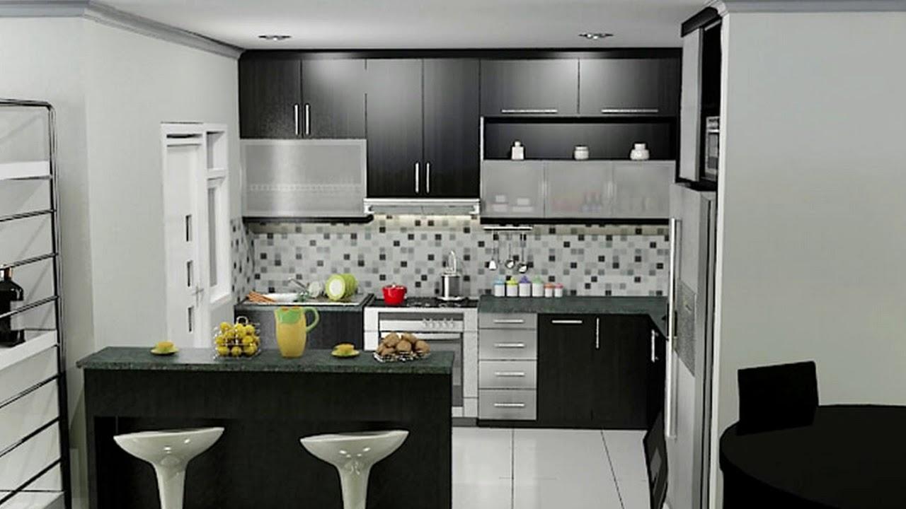 Dapur Cantik Ide Desain Kecil Minimalis Yang Terbaru
