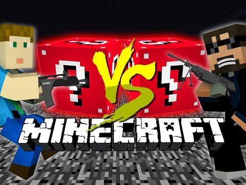 minecraft:-red-lucky-block-challenge- -flan's-mod-destruction!