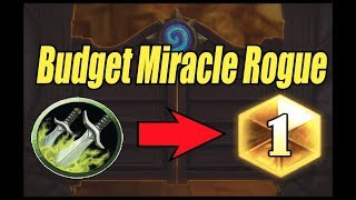 Budget Miracle Rogue: How to BM in Hearthstone