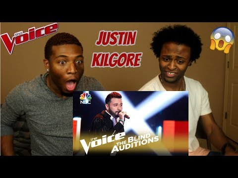 "The Voice 2018 Blind Audition - Justin Kilgore: ""Tomorrow"" (REACTION)"