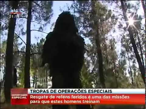 Tropas de Operações Especiais (Rangers), Lamego, Exército Português, Reportagem SIC 2011