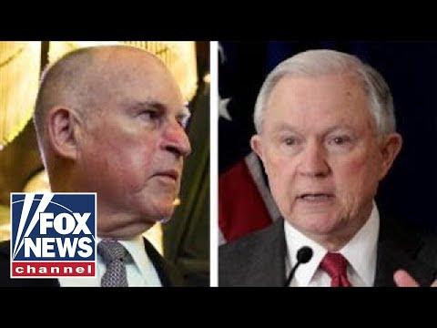California governor calls DOJ lawsuit a 'political stunt'