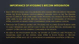 Major ATM Manufacturer Integrates Bitcoin in South korea