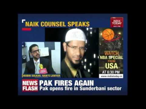 Zakir Naik's Lawyer Reacts On The NIA Raids At IRF Mumbai Office