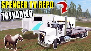 REPO BUSINESS   EP.5   CAMPER + CLARENCE IS BACK   FARMING SIMULATOR 2017