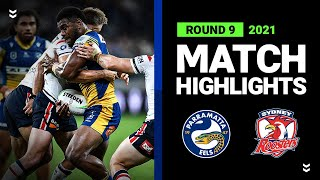 Eels v Roosters Match Highlights   Round 9, 2021   Telstra Premiership   NRL