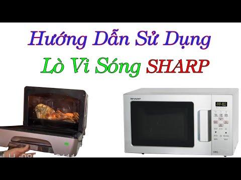 Hướng Dẫn Sử Dụng Lò Vi Sóng 3D Shap Nội địa Nhật -0968632166