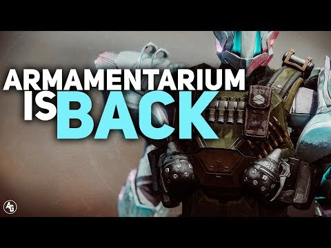 Armamentarium is BACK in Destiny 2 (PVP and PVE loadouts) Titan Exotic