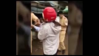 Giám đốc doanh nghiệp gây tai nạn còn đánh cả cảnh sát giao thông