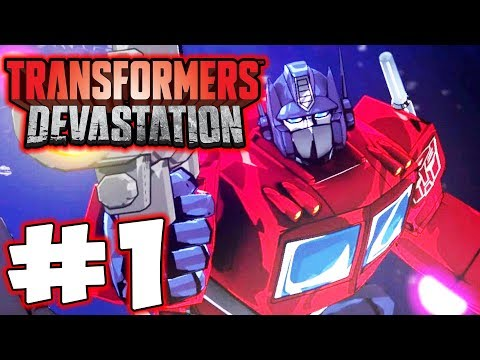 Transformers Devastation - Part 1 - Optimus Prime! Gameplay Walkthrough