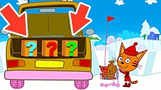 ТРИ КОТА - #мультик для детей 2018 - игра три кота магазин