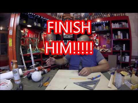 Trophy Fabrication #4: FLY KILL ,Golf Tee Fabrication and Beer Review.