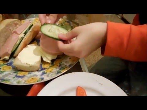 Готовим бутерброды  Домашнее задание по технологии