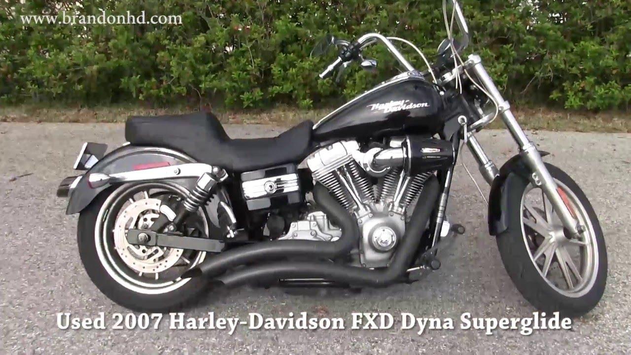 2007 Harley Davidson Fxdc Dyna Super Glide Custom Review: 2007 Harley Davidson FXD Dyna Superglide Motorbike For