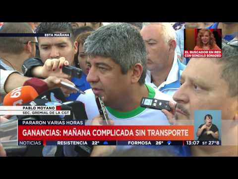 TV Pública Noticias - Paro de Transportes