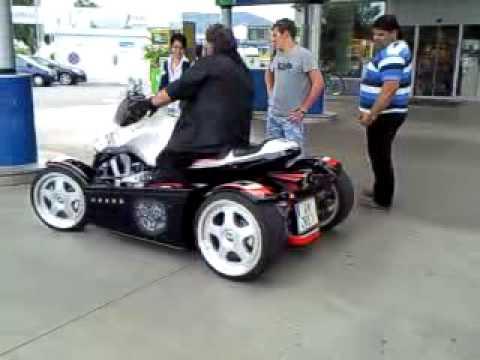 Polaris Sling Shot >> BMW Quad ( Unikat !! )Sound - YouTube