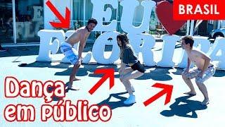 DANCING KPOP IN PUBLIC CHALLENGE | Dançando kpop em público by BLACK SHINE
