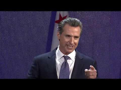 RAW: Gavin Newsom Celebrates Election Night Win For California Governor