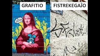 NOTPAROLO (GRAFITIOJ ESTAS ARTAĴOJ, SED FISTREKEGAĴOJ ESTAS VANDALAĴOJ, ĈU NE? AŬ NE?)