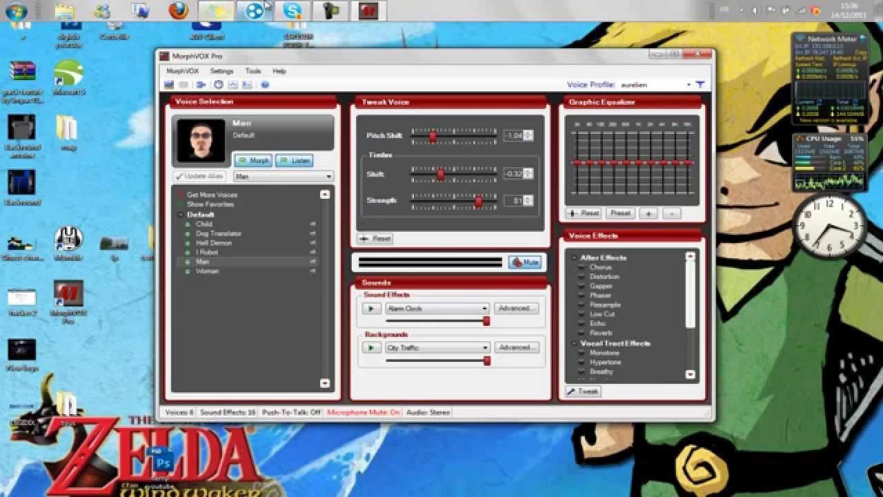 modificateur de voix skype